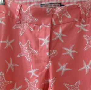 Vineyard Vines Womens Pants Crop Trouser Size 6